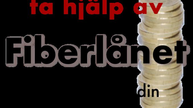 Byafiber - Finansiera din anslutning