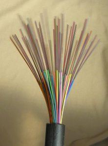Fiberkabel med 720 fibertrådar - CC by PAN ANT