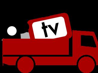 Lastbil med datapaket