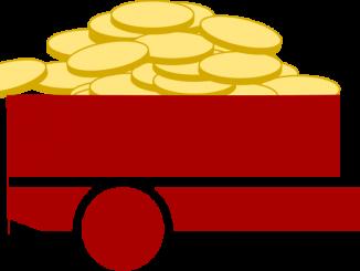 Lastbil med pengar