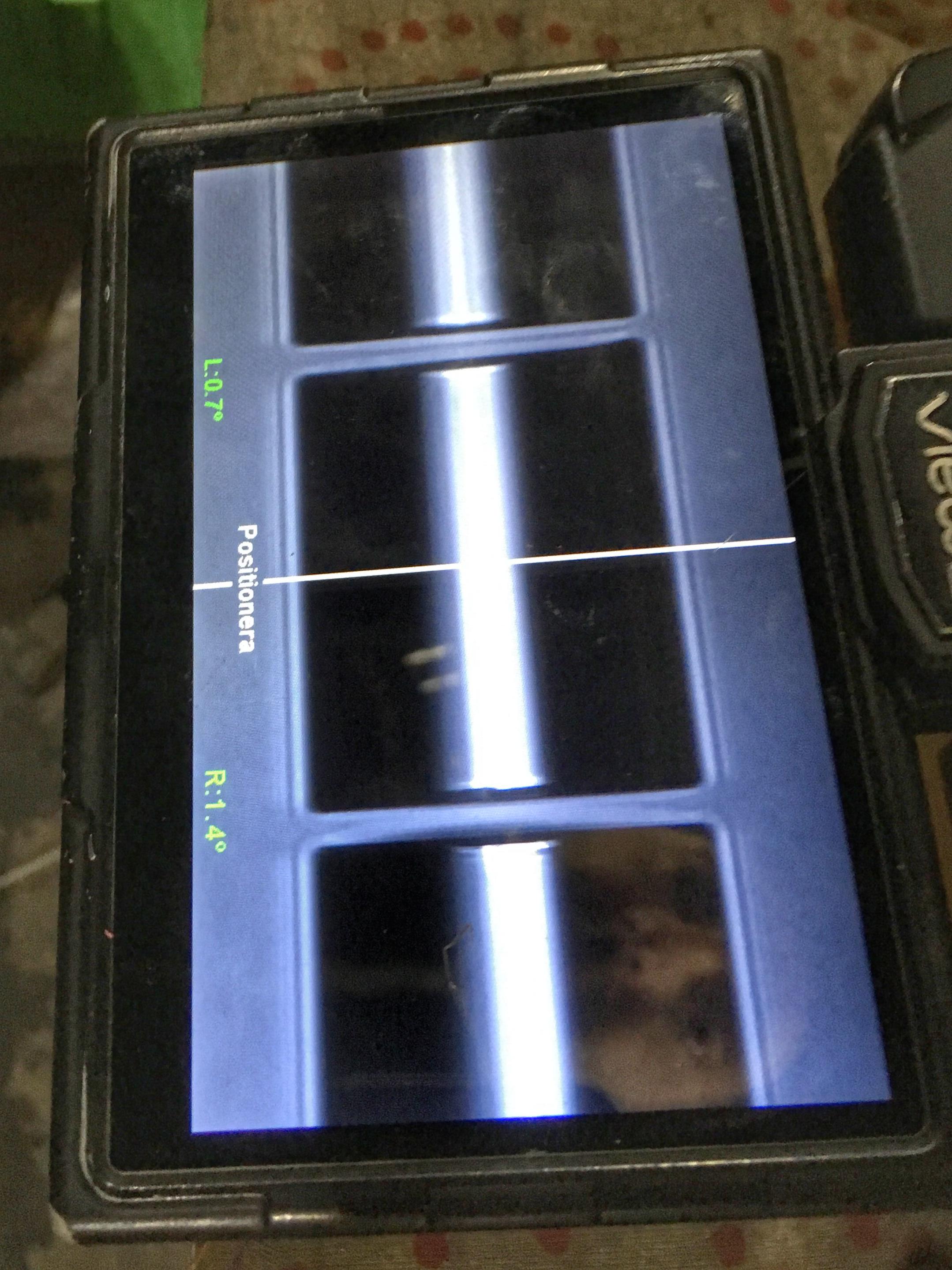 Byafiber – Svetsen granskas via skärmen