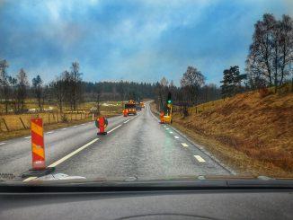 Miljöschakt gör tryckningar under väg 154